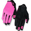 Giro La DND - Guantes largos Mujer - rosa/negro